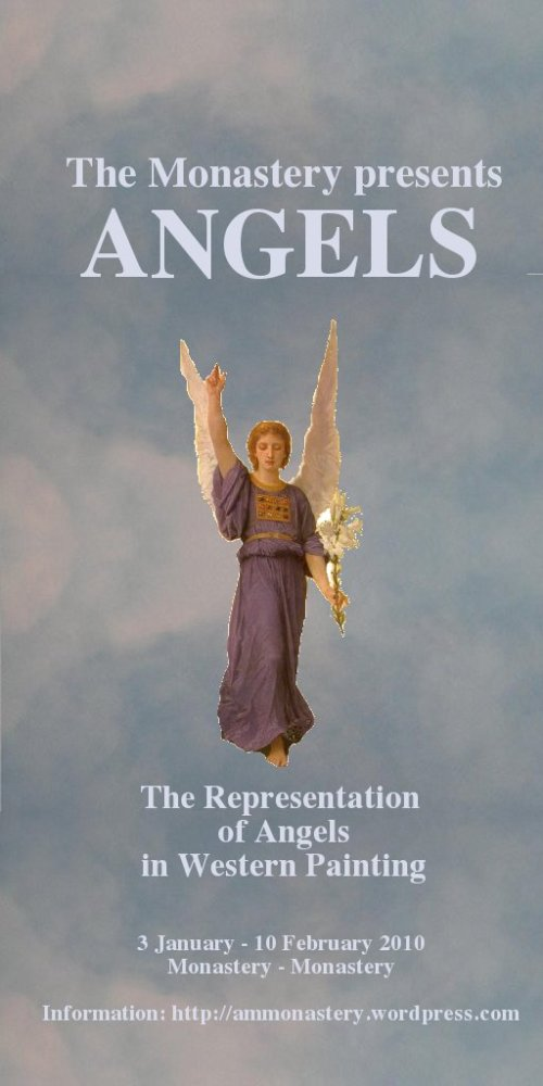 "Sign of the exhibition ""Angels. The Representation of Angels in Western Painting"""